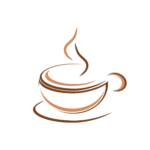 A icon of a cup of coffee.