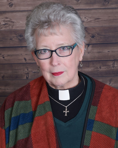A portrait of our pastor at Summerfield, Lynne Hines-Levy.